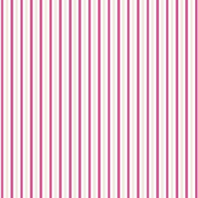 Arwen Stripe (Cotton) - 5 - Light grey stripes between bands in white and raspberry colours, on cotton fabric