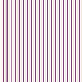 Arwen Stripe (Linen Union) - 2 - Narrow dark purple and light grey stripes printed on a white linen fabric background