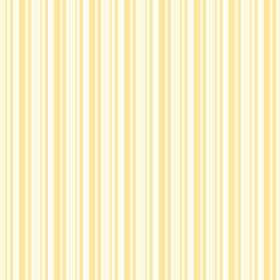 Buxton (Cotton) - 3 - White and yellow striped cotton fabric