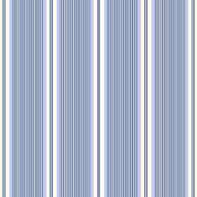 Fortuna (Cotton) - 5 - Cotton fabric printed with a pattern of very narrow blue and white stripes