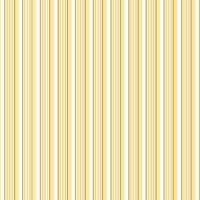 Lemington (Linen Union) - 3 - Light yellow, gold and white stripes patterning a swatch of linen fabric