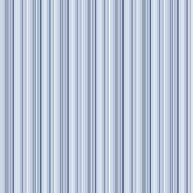 Moffat (Cotton) - 1 - Cotton fabric with a design of narrow blue and white pinstripes in pale shades which are spaced closely together