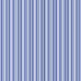 Moffat (Cotton) - 5 - Fabric striped in several different shades of blue and made from cotton