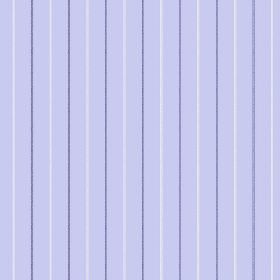 Mont Dore (Cotton) - 5 - Pale blue-lilac coloured cotton fabric as a background for a design of narrow purple and white lines