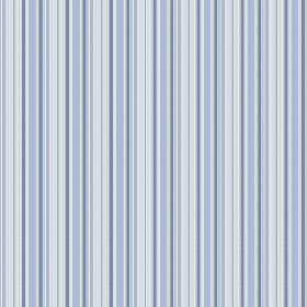 Bath (Linen Union) - 1 - Fabric made from light blue striped linen