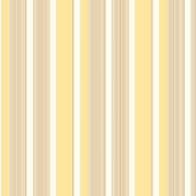 Taupo (Linen Union) - 3 - Linen fabric featuring a striped design in pale yellow, white and gold colours