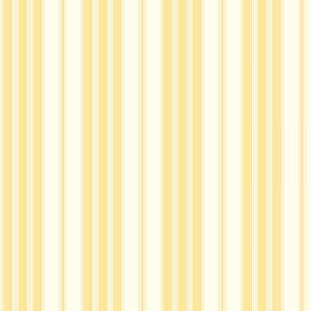 Vichy (Cotton) - 3 - Subtly striped yellow and white cotton fabric with an even, repeated design