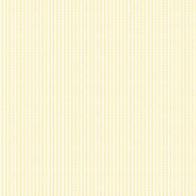 Viterbo (Linen Union) - 3 - White linen fabric with a pattern of very narrow, pale yellow stripes which are slightly dotted