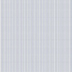 Viterbo (Linen Union) - 5 - Fabric made from white linen, with a pattern of grey-blue lines which appear to have a slight dotted or stitched