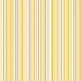 Bath (Linen Union) - 3 - Fabric made from vertically striped linen in shades of yellow, gold and white