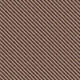 Milena (Cotton) - 4 - Cotton fabric printed with dotted diagonal lines in three different shades of brown