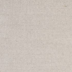 Plain Irish Linen - Natural - Fabric woven from grey and cream coloured linen, cotton and polyamide threads