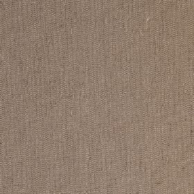 Plain Irish Linen - Olive - Brown fabric which has been woven with some cream coloured threads in linen, cotton and polyamide