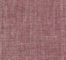 Plain Linen - Porphery - 100% linen fabric woven using dark pink and pale grey coloured threads