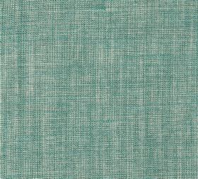 Plain Linen - Teal Request - Fabric made entirely from linen in pale shades of grey and aqua blue