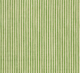 Cotton - Hertford Stripe - Vivid striped fabric made from 100% cotton in pale yellow and bright lime green