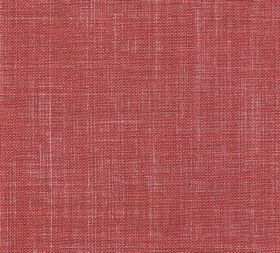 Plain Linen - Carpet Slipper - 100% linen fabric in a plain shade of light red featuring a few threads in a slightly paler shade