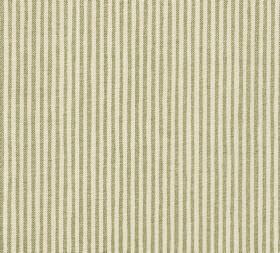 Cotton - Hertford Stripe - 100% cotton fabric with a repeated narrow stripe design in cream and brown-grey