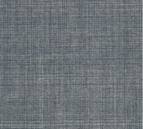 Cotton - Fermoie Plain - 100% cotton fabric which has been woven from a mixture of white and mid blue-grey coloured threads