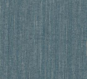 Cotton - Fermoie Plain - L-186 - Plain Air Force blue coloured 100% cotton fabric made with a few vertical threads in a slightly paler white