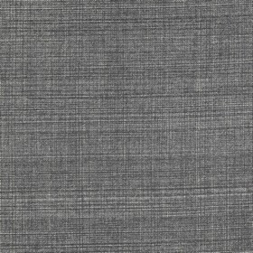 Cotton - Fermoie Plain - A few white threads running horizontally and vertically through graphite coloured 100% cotton fabric