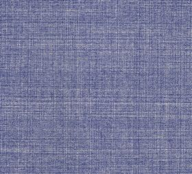 Cotton - Fermoie Plain - 100% cotton with light grey threads running horizontally and vertically through a lavender coloured fabric