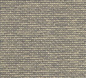 Cotton - Frome - Light yellow and dark brown coloured 100% cotton fabric featuring a design of uneven lines and small triangle outlines