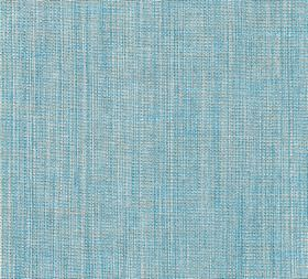 Plain Linen - Ringabella - 100% linen fabric which has threads in white and shades of pale blue running vertically through it