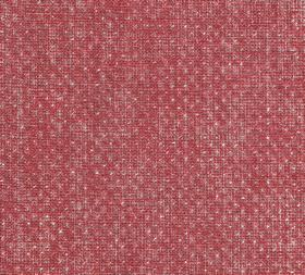 Figured - Linen - Dark pink, light grey and cream coloured 100% linen fabric featuring an almost imperceptible repeated pattern