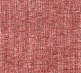 Plain Linen - Barn Red - Fabric woven entirely from linen using salmon pink and light grey coloured threads