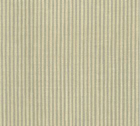 Cotton - Hertford Stripe - 100% cotton fabric covered with a narrow stripe design which alternates vertical bands of light brown and pale ye
