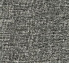 Plain Linen - Downpipe - 100% linen fabric woven from threads in a dark shade of grey and a very pale shade of grey