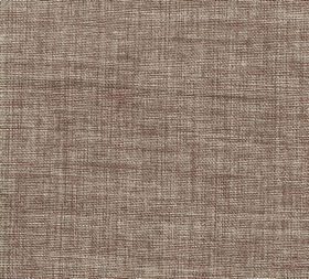 Plain Linen - Hearthrug - Mid-brown 100% linen fabric featuring some patchy pale grey areas