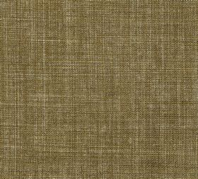 Plain Linen - Carpet Green - Fabric made from khaki green coloured 100% linen with a few lighter cream coloured threads