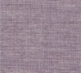 Plain Linen - Heleny Blue - Pale lilac coloured fabric made from 100% linen with no pattern