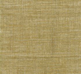 Plain Linen - Gratin - 100% linen fabric made in dull gold with patchy colouring
