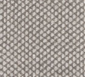 Wicker - Linen - Purple-grey fabric behind small, irregular pebble-like shapes, made from nothing but linen