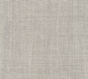 Plain Linen - Silver Something - Fabric made entirely from linen in a plain, light shade of grey
