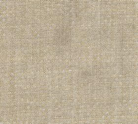 Figured - Linen - Plain hessian coloured fabric made from 100% linen