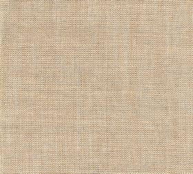 Plain Linen - King Edward - Biscuit coloured 100% linen fabric with no pattern