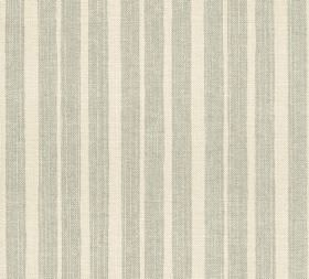 Cotton - York Stripe - Vertically striped 100% cotton fabric with bands spaced at different intervals, made in pale shades of grey and cream