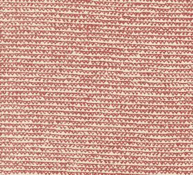 Cotton - Frome - 100% cotton fabric featuring a design of uneven rows and outlines of tiny triangles in cream and light red