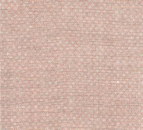 Figured - Linen - Very subtle pale grey dots patterning pale pink coloured fabric made entirely from linen