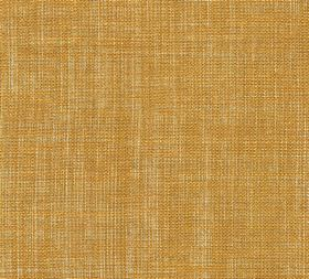 Plain Linen - Club Yellow - Dark mustard yellow coloured fabric made entirely from linen