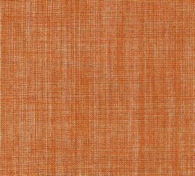 Plain Linen - Orange Couture - Bright orange and pale grey coloured 100% linen threads woven together into a vibrant fabric