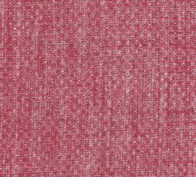 Figured - Linen - Subtly textured light strawberry pink coloured fabric made from 100% linen
