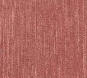 Cotton - Fermoie Plain - Some pale cream coloured threads running vertically through dark salmon pink coloured 100% cotton fabric