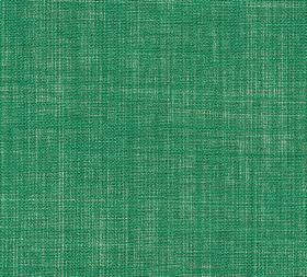 Plain Linen - Angelica - Jade green coloured fabric made from 100% linen with no pattern