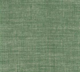 Plain Linen - Parsons Green - Green-grey coloured 100% linen fabric featuring a few cream flecks