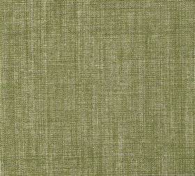 Plain Linen - Green Velvet - Patchily coloured 100% linen fabric made in dusky green and cream